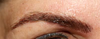 Mikroblading Augenbrauche 1 Sitzung