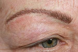 Mikroblading Augenbraue nachher