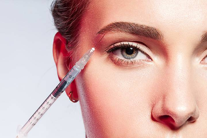 Unterspritzung Augenbraue OL Lift