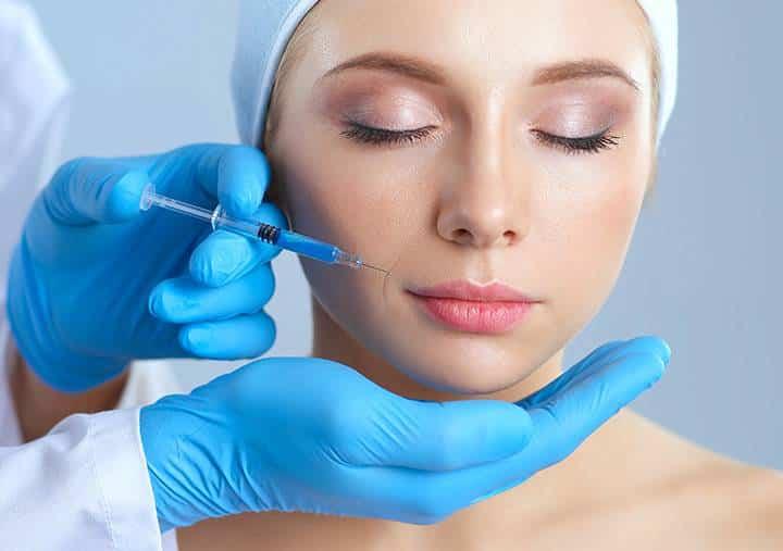Unterspritzung Naso Labial
